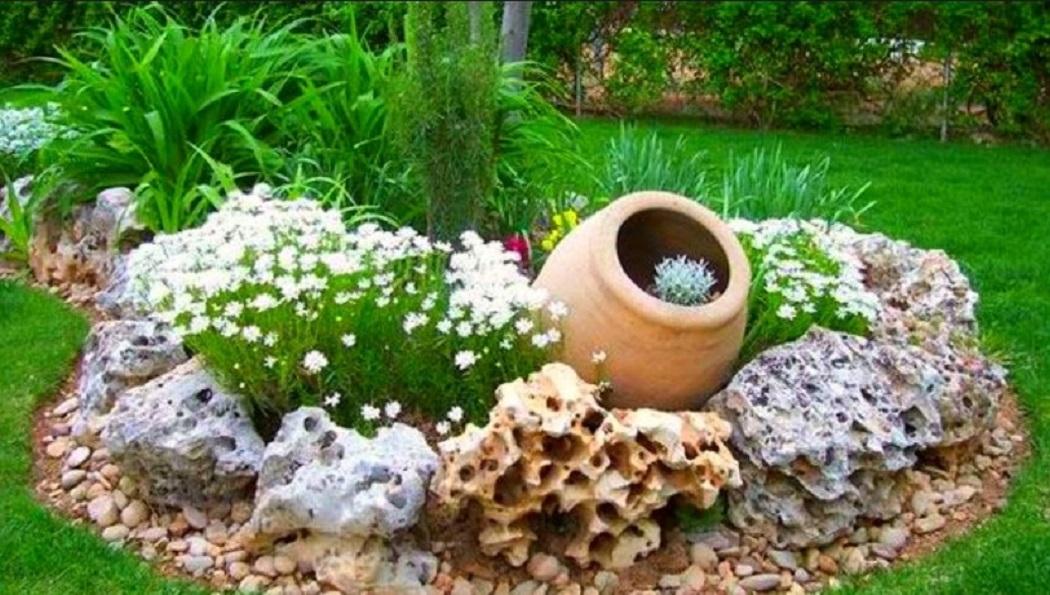 Dekorasi Taman Minimalis Depan Rumah