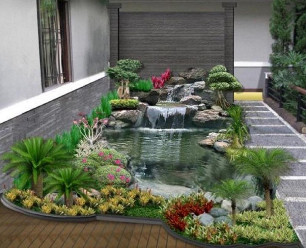 Dekorasi Taman Minimalis Murah