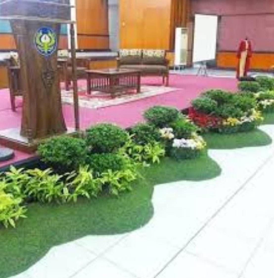 Dekorasi Taman Panggung