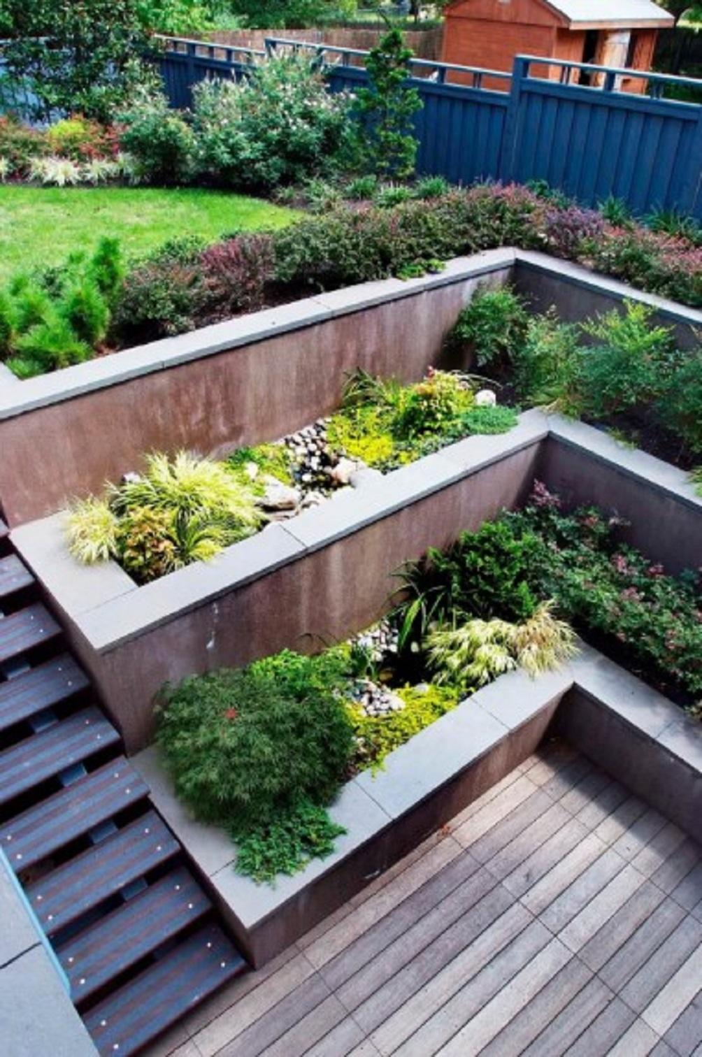 Dekorasi Taman Rumah Minimalis Modern