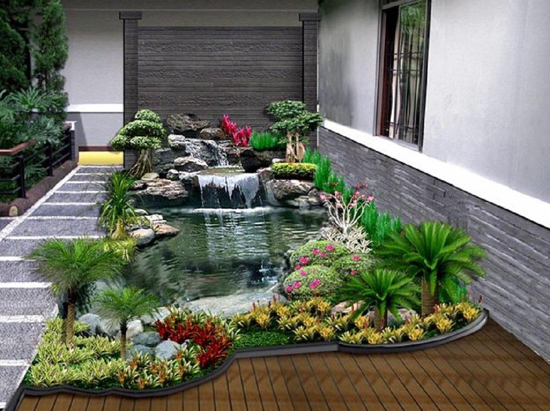 Dekorasi Taman Sederhana Depan Rumah