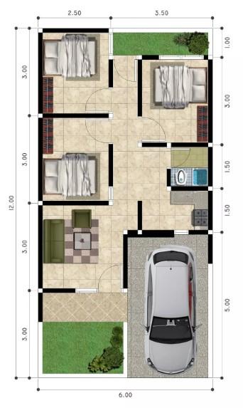 73 Koleksi Gambar Rumah 2 Lantai Ukuran 7 X 10 Terbaru