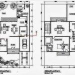 Denah Rumah Minimalis 2 Lantai Ukuran 6x10