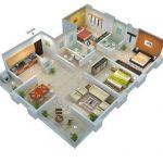 Denah Rumah Minimalis 3 Kamar
