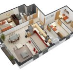 Denah Rumah Minimalis Kamar 3
