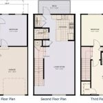 Denah Rumah Minimalis Sederhana 3 Lantai