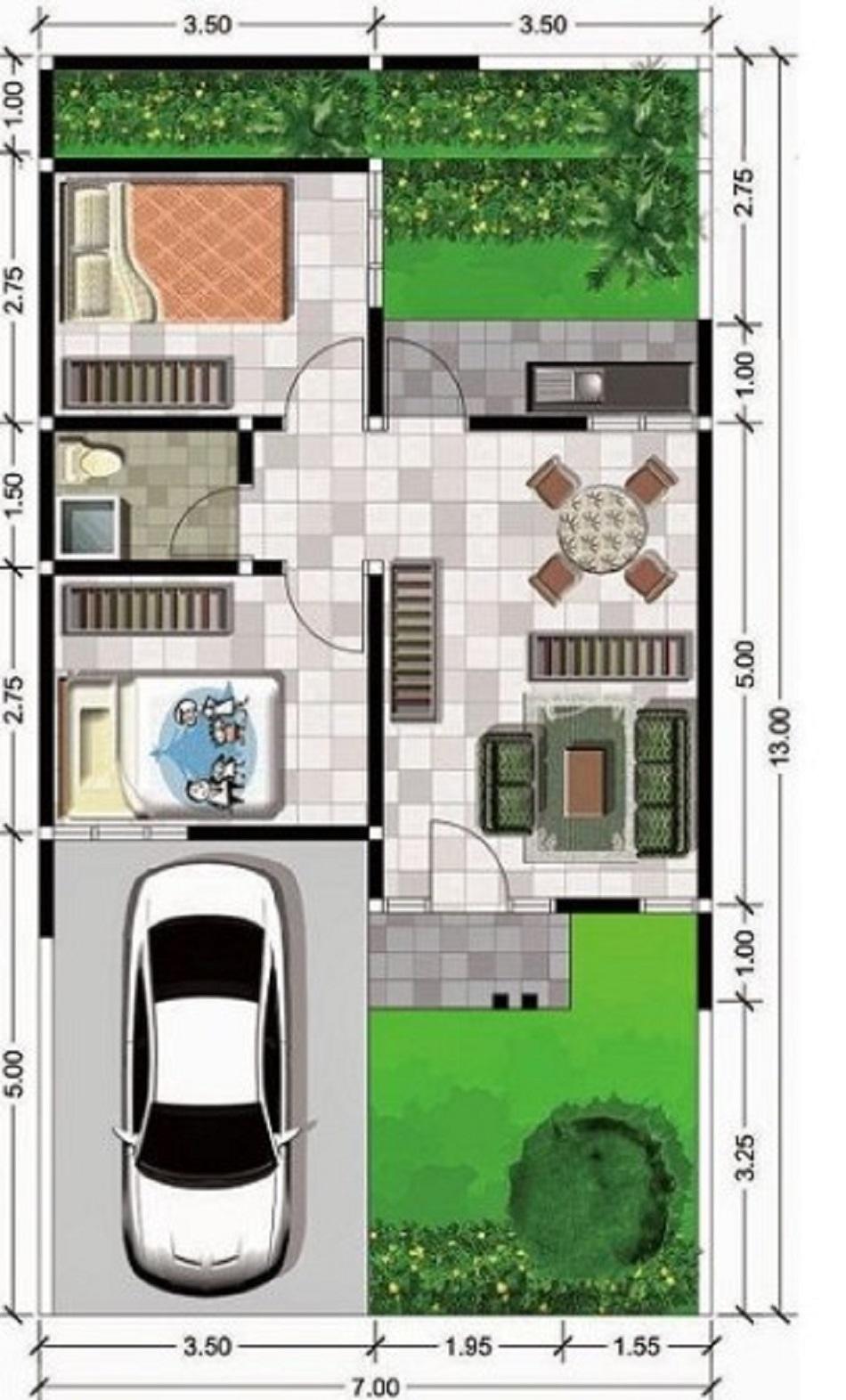 80 Koleksi Contoh Gambar Rumah Ukuran 6x9 Terbaik