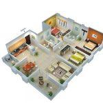 Desain Rumah Minimalis 3 Kamar 1 Lantai