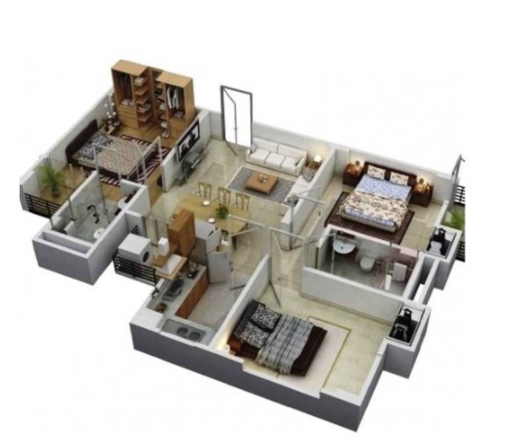 Desain Rumah Minimalis Modern 3 Kamar