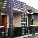 Desain Rumah Minimalis Sederhana dengan Dominasi Pola Garis