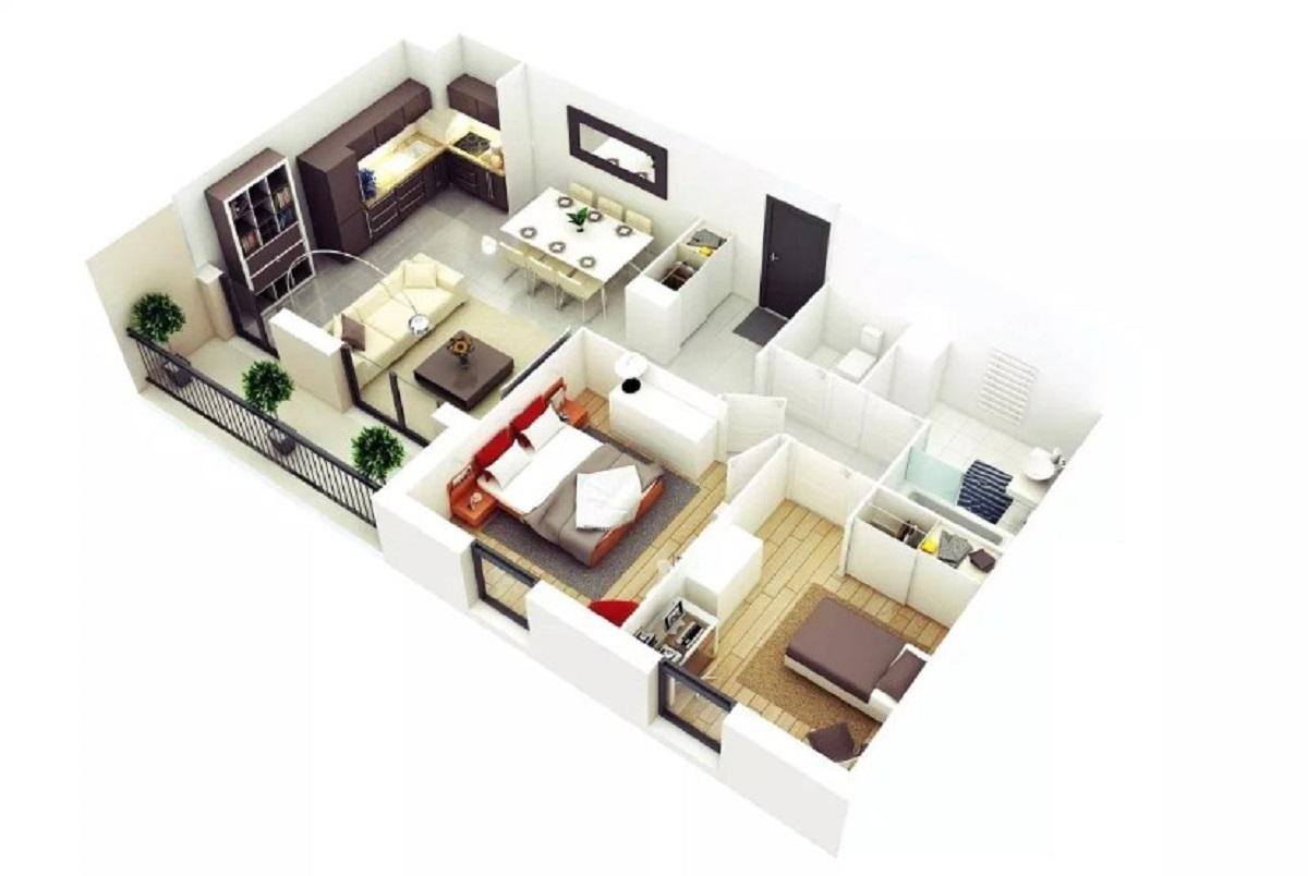 Foto Desain Rumah Minimalis 3 Kamar Tidur
