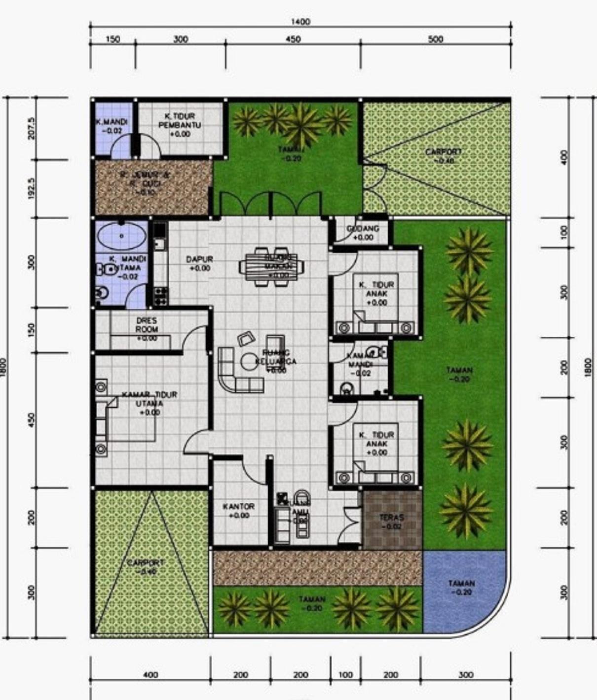 Foto Desain Rumah Minimalis 3 Kamar