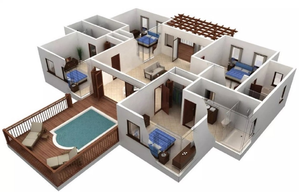 Foto Rumah Minimalis 3 Kamar