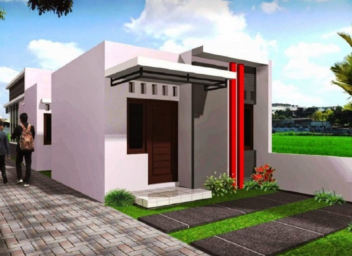Foto Rumah Minimalis Sederhana Terbaru