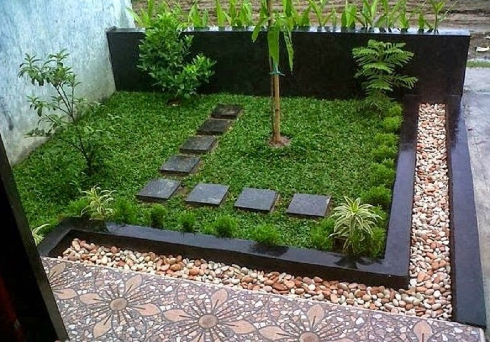 Inspirasi Dekorasi Taman Depan Rumah