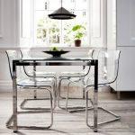 Meja dan Kursi Transparan Untuk Dekorasi Rumah Minimalis