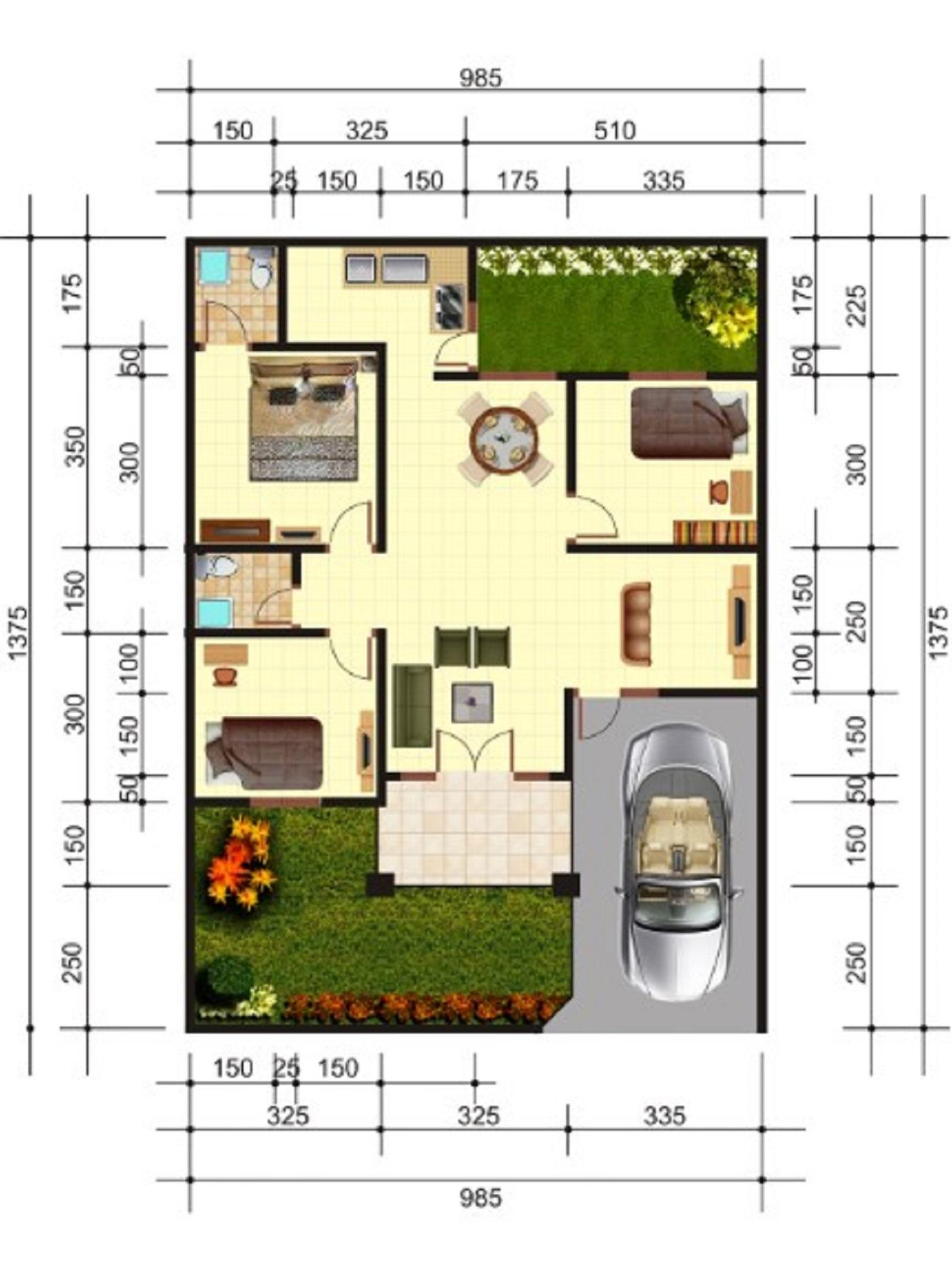 9000 Koleksi Gambar Rumah Minimalis 2 Lantai Ukuran 7x10 Terbaik