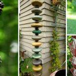 Rain Chain Sebagai Dekorasi Taman Sekaligus Pencegah Lantai Becek