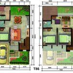 Rumah Minimalis 3 Kamar 2 Lantai