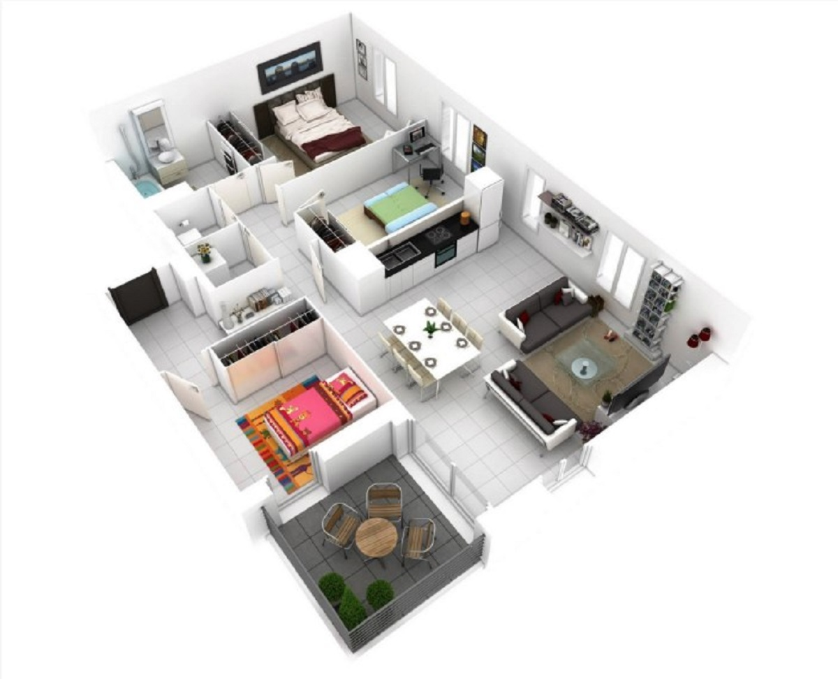 Rumah Minimalis 3 Kamar Sederhana