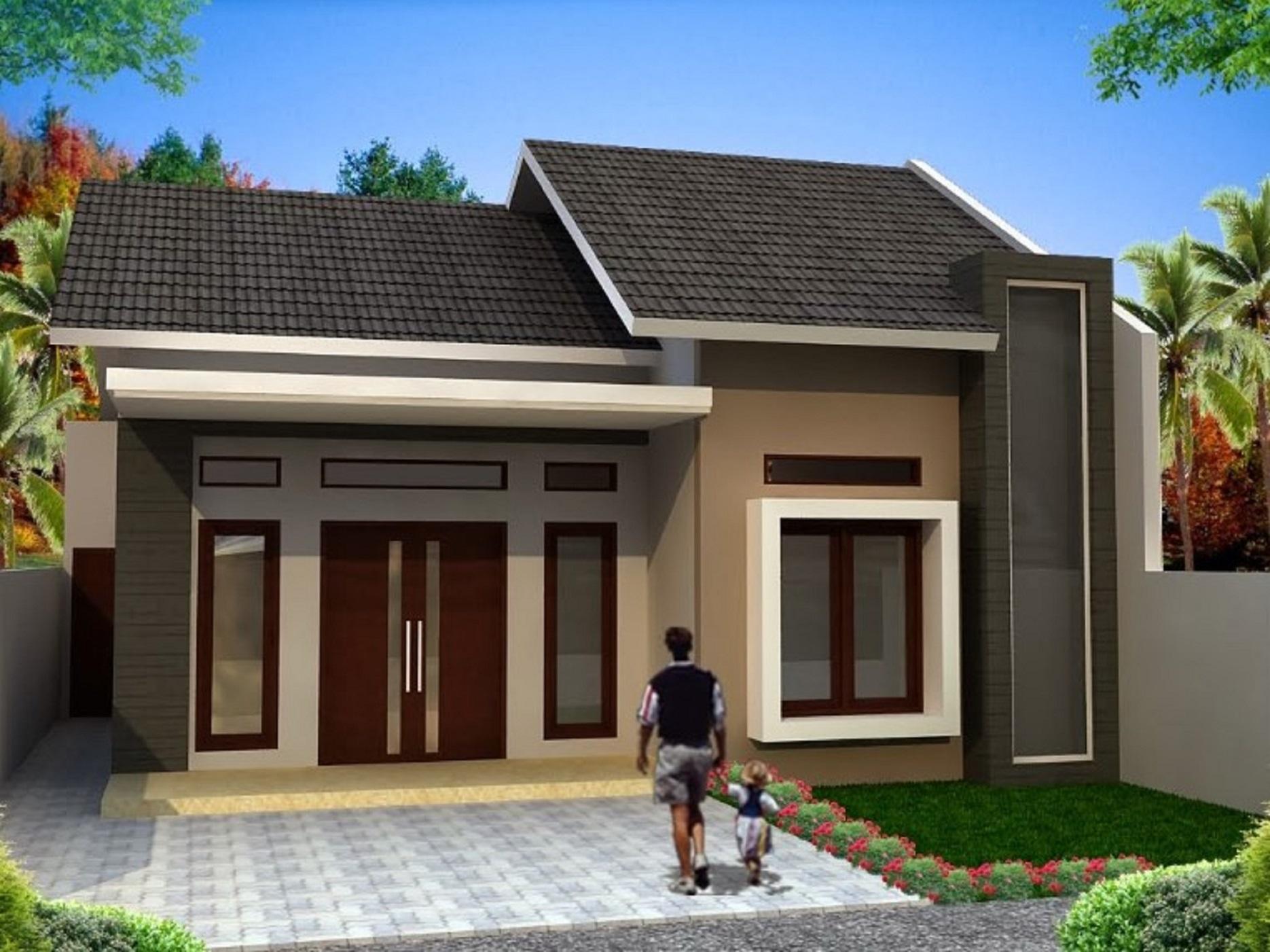 √ 75 Desain Rumah Minimalis Sederhana Modern Terbaru 2020