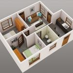 Rumah Minimalis Sederhana 2 Kamar