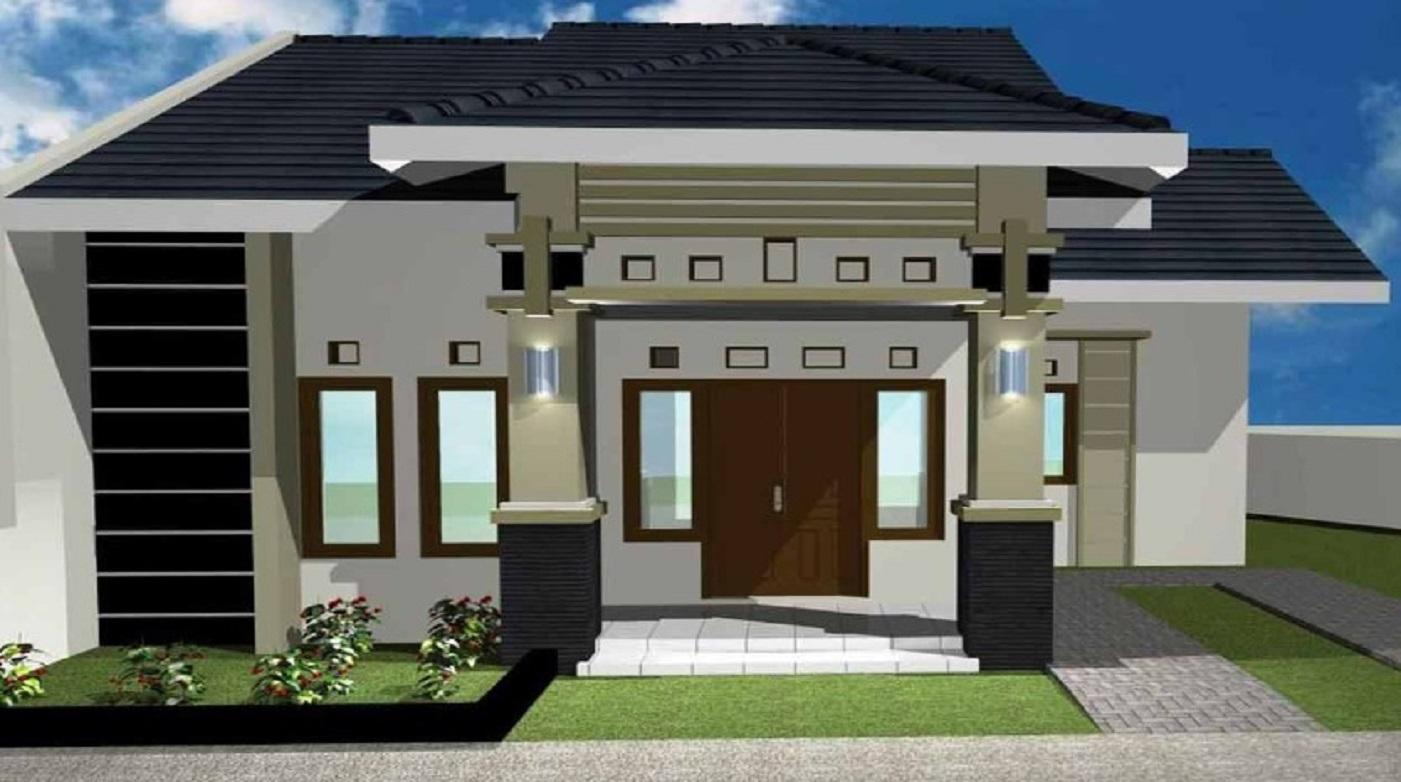 75 Desain Rumah Minimalis Sederhana Modern Terbaru 2020