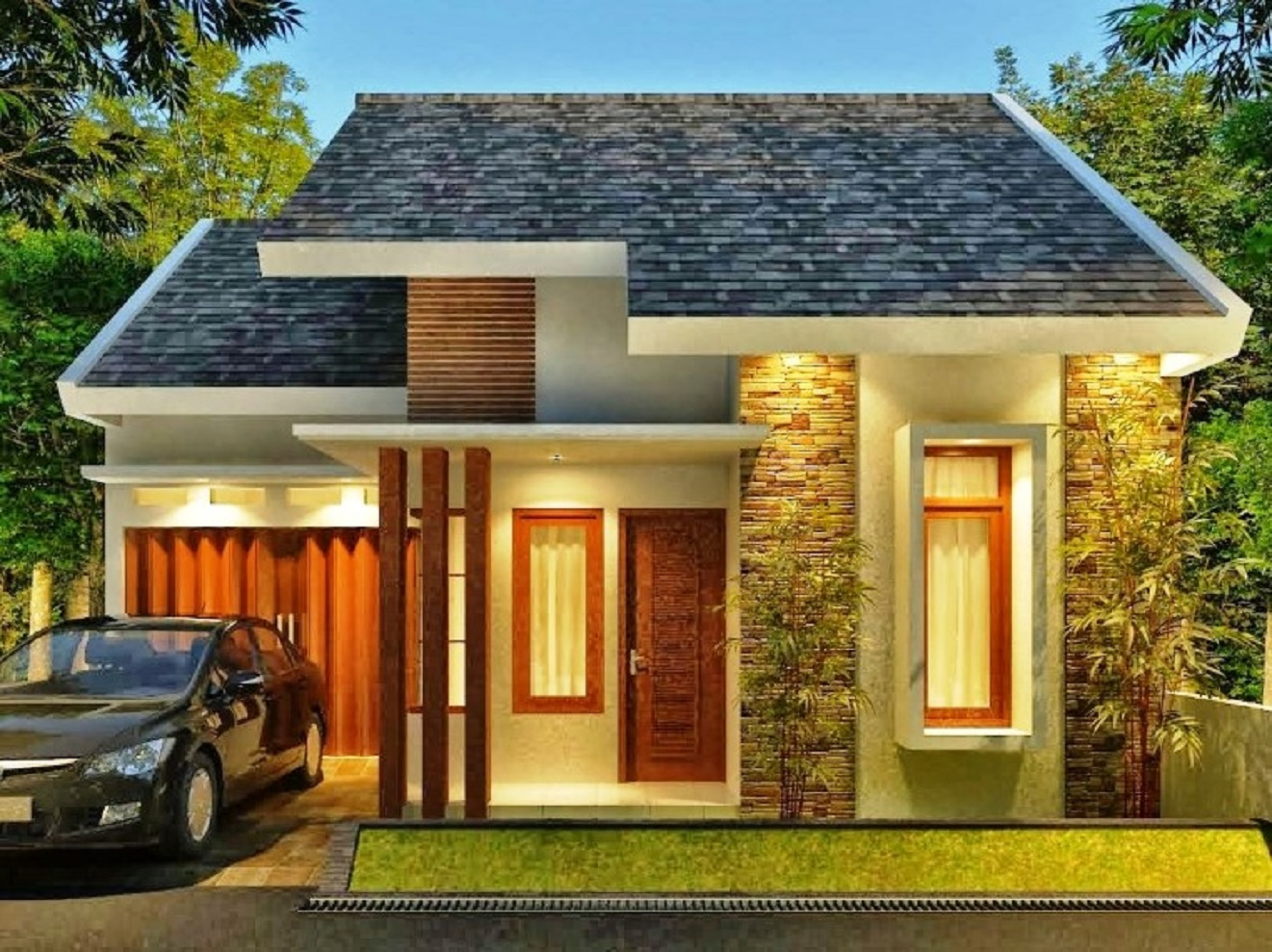 Rumah Minimalis Sederhana Modern
