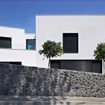 Rumah Minimalis Sederhana Monokrom