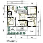Sketsa Desain Rumah Minimalis 3 Kamar