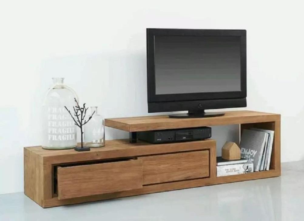 Contoh Meja Tv Kayu