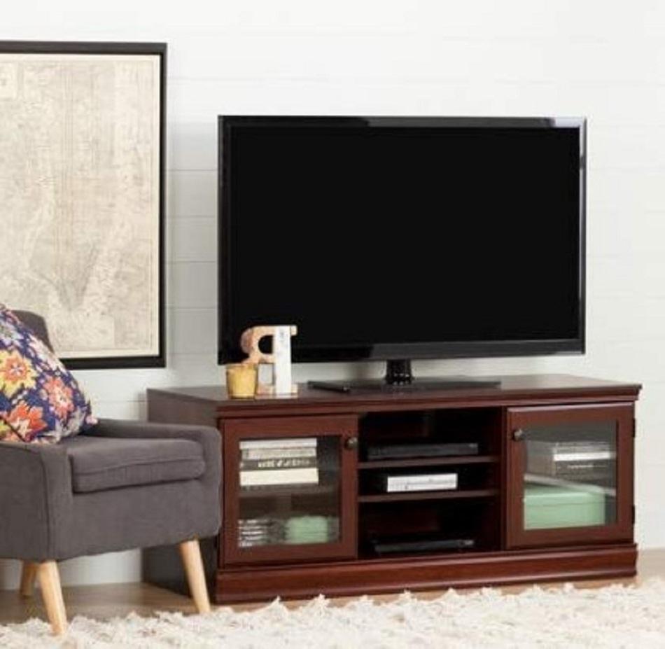 Gambar Meja Tv Kayu