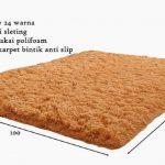Karpet Bulu Rasfur Busa Polyfoam 100 x 150 Tebal 2 cm