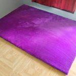 Karpet Bulu Rasfur Polos (Tebal Busa 5 cm - Versi Premium) Tbk harga