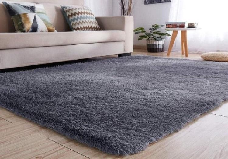 Karpet Bulu Rasfur Polos Ukuran 150 x 200 x 3 cm
