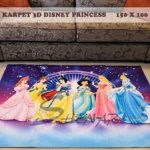 Karpet Lantai 3DKarakter Princess