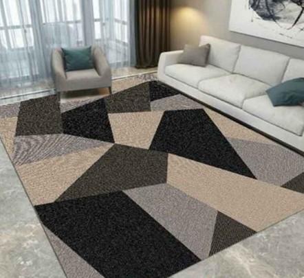 Karpet Lantai Minimalis Abstrak