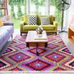 Karpet Lantai Minimalis Motif Aztec