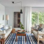 Karpet Lantai Minimalis Motif Garis Garis
