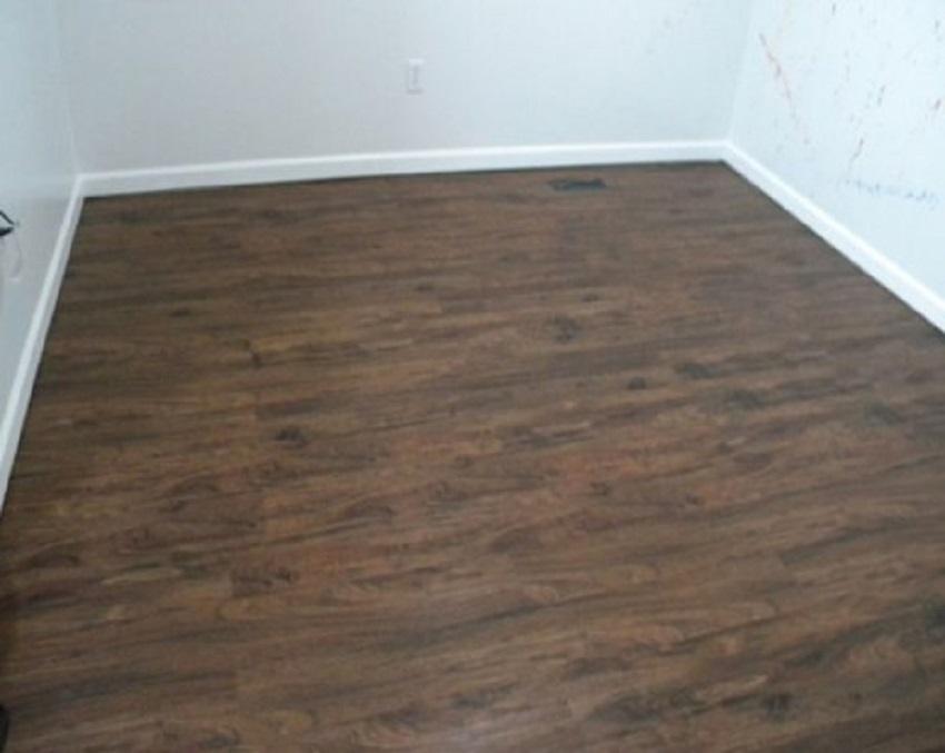 Karpet Lantai Motif Kayu Abstrak