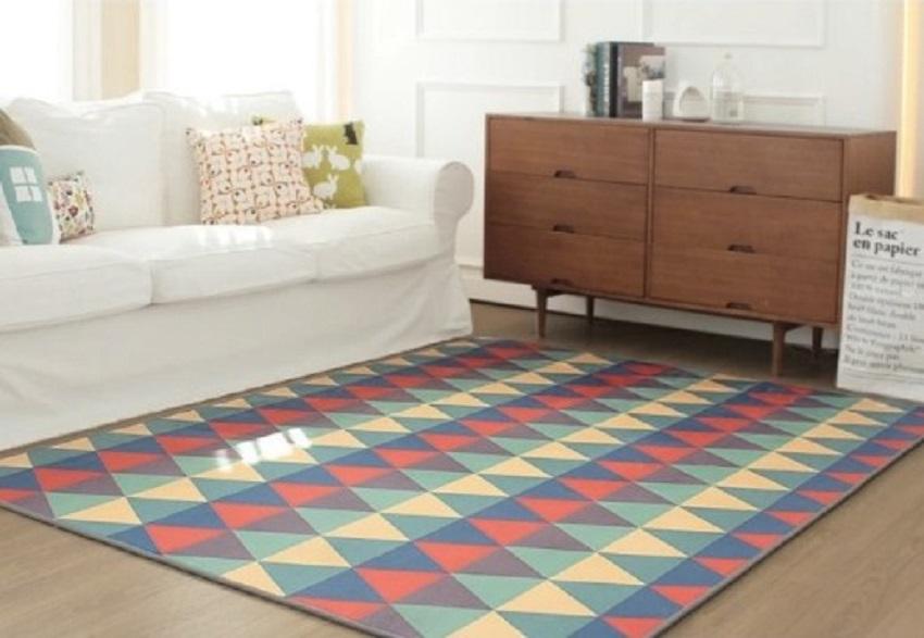 Karpet Lantai Plastik Mozaik