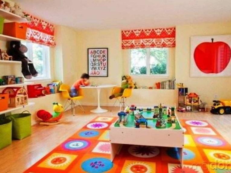 Karpet Lantai Plastik Warna-Warni