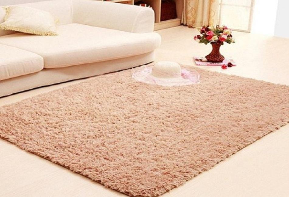 Karpet bulu rasfur 200 x 150 tebal busa 2 cm