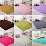Karpet lantai bulu rasfur ukuran 150 x 90 tebal keseluruhan 1,5 cm