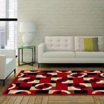 Karpet lantai minimalis PR Rugs Modern 09 ukuran 115x155 cm