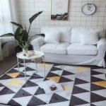 Karpet lantai modern 3 kualitas tinggi