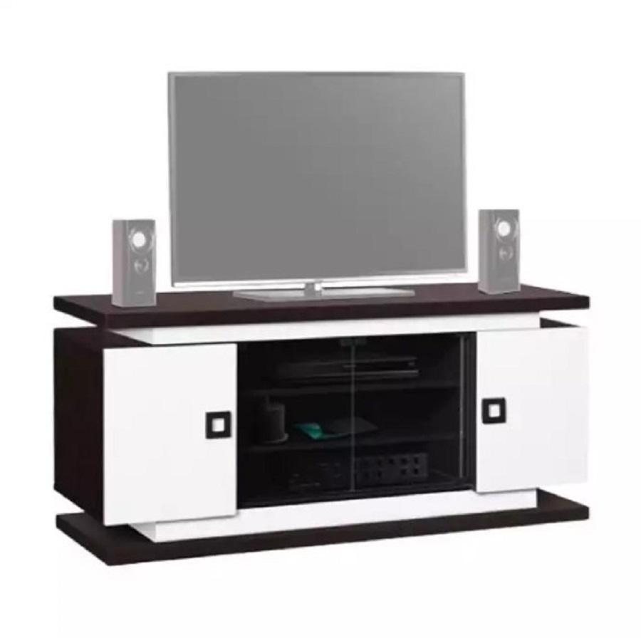 Lemari Tv Minimalis in Black and White
