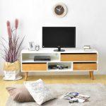 Livien Meja TV Cubic Dressers