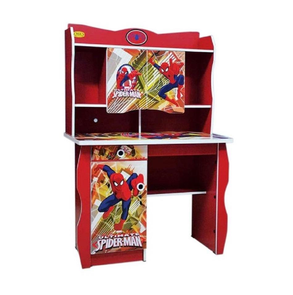 Meja Belajar Anak Fcenter Study Desk Karakter Spiderman