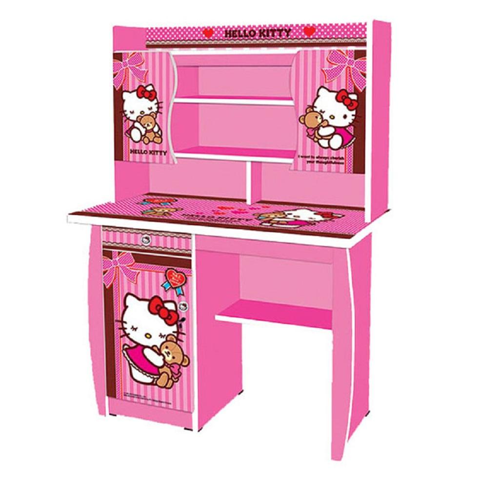 Meja Belajar Anak Karakter Hello Kitty